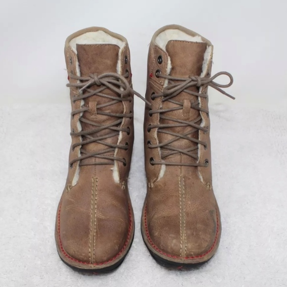 da9ce8b4585 Wenger Lady Trapper Hiking Lined Boots Size 8